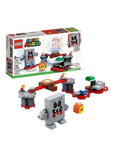 Lego Super Mario Whomps Lava Trouble Expansion Set 71364 Renkli
